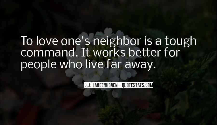 Far Far Away Love Quotes #1170706