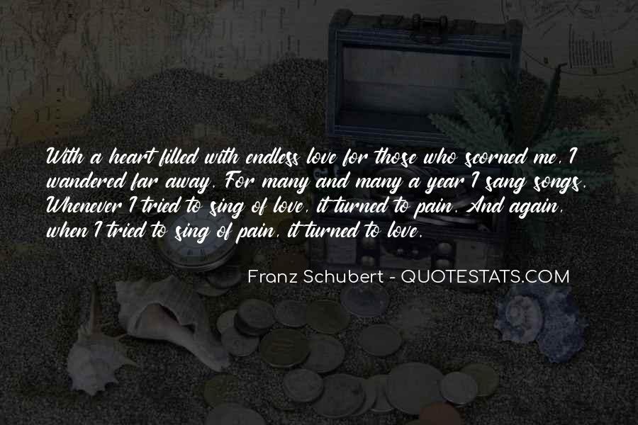 Far Far Away Love Quotes #1694046