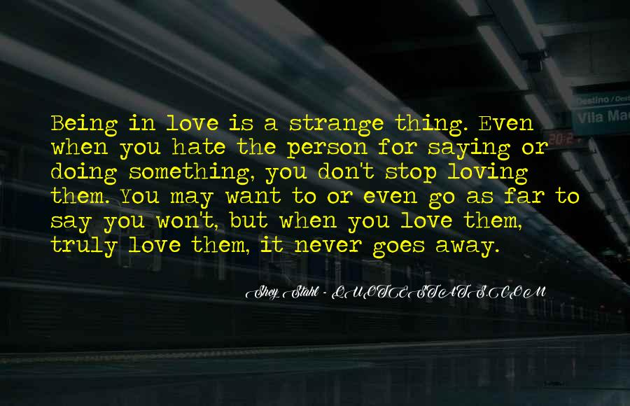 Far Far Away Love Quotes #1712485