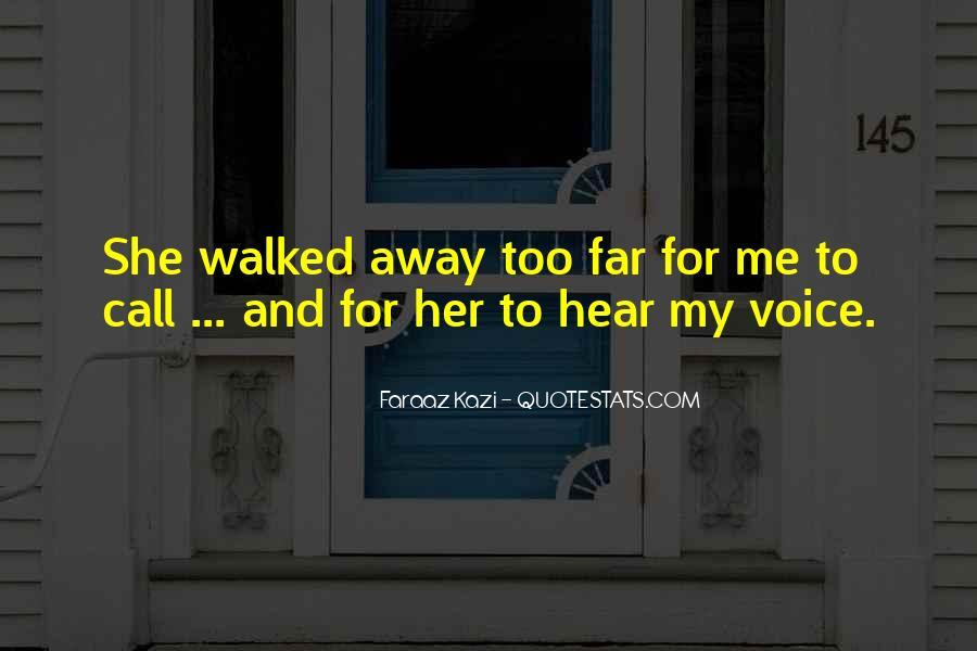 Far Far Away Love Quotes #1836531