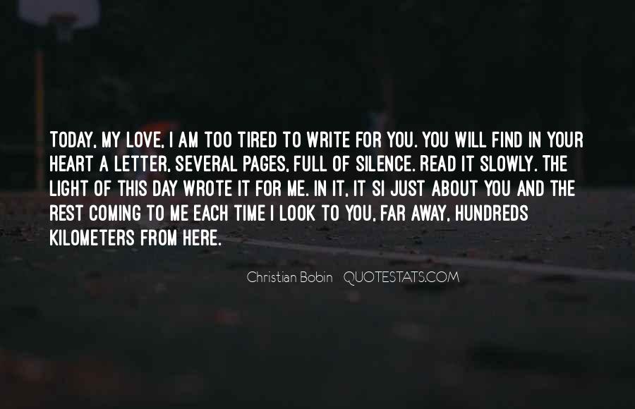 Far Far Away Love Quotes #373524