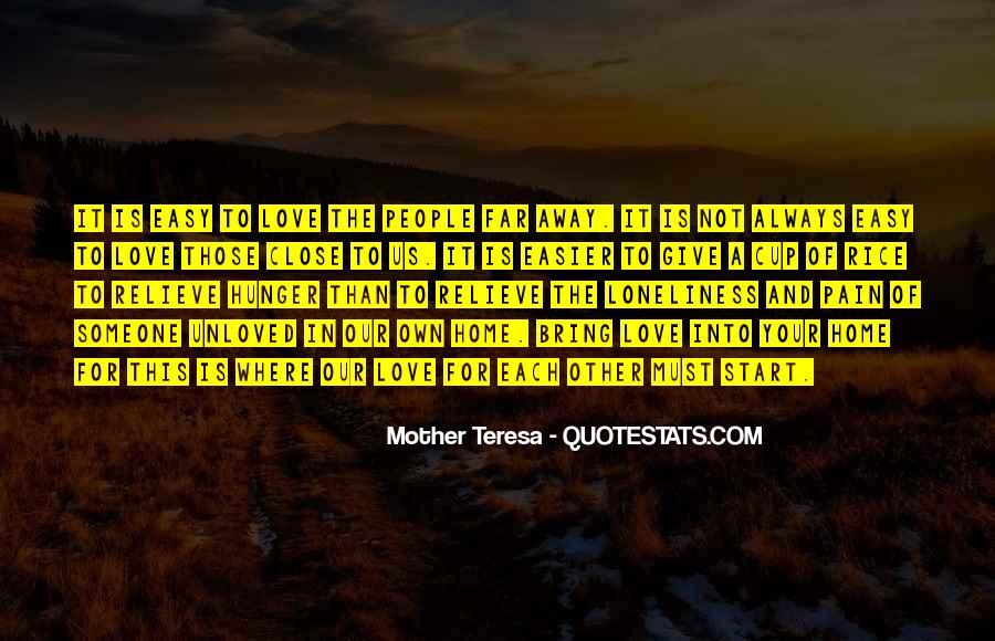 Far Far Away Love Quotes #501205