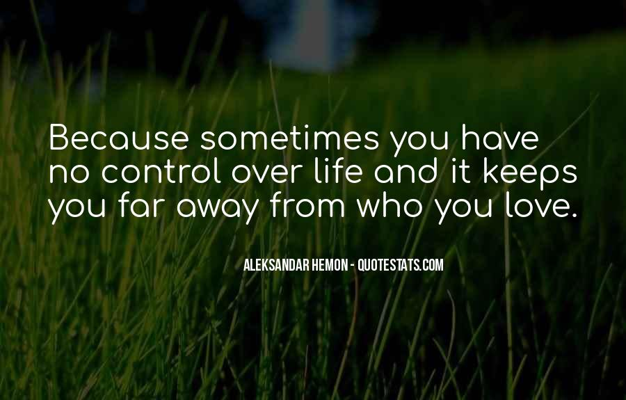 Far Far Away Love Quotes #778518