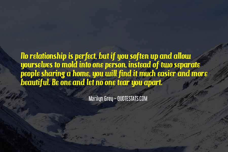 Far From Perfect Relationship Quotes #663979