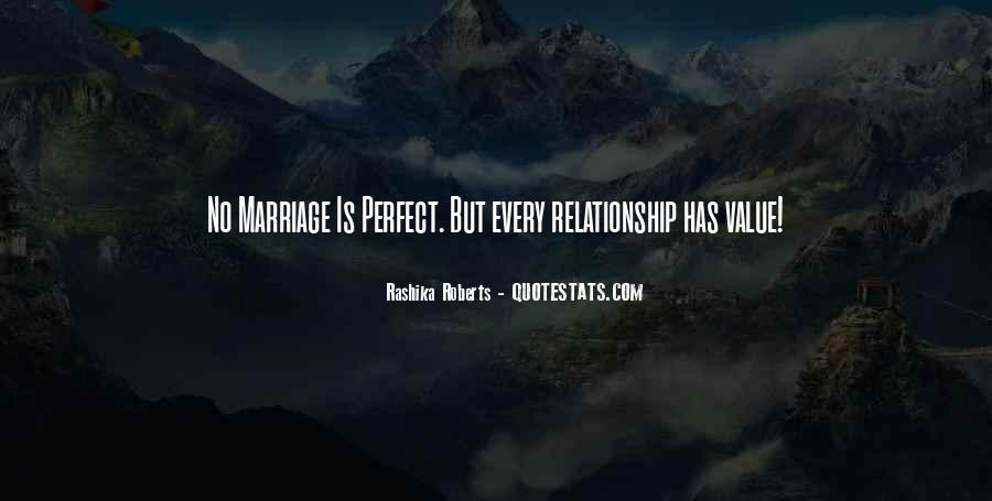Far From Perfect Relationship Quotes #667220