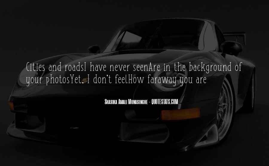 Faraway Quotes #698095