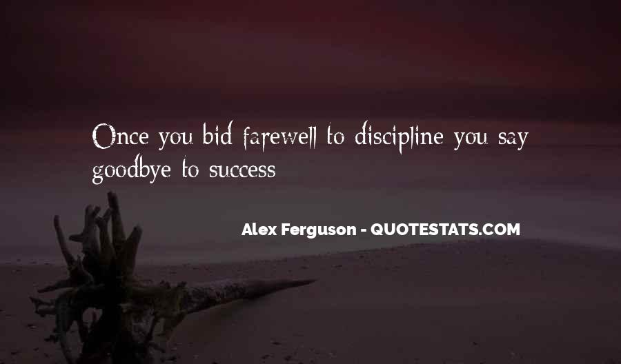Farewell Is Not Goodbye Quotes #64569