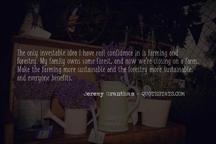 Farm And Family Quotes #1720160