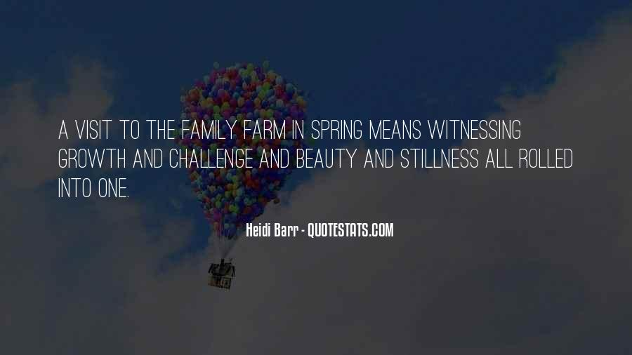 Farm And Family Quotes #192394