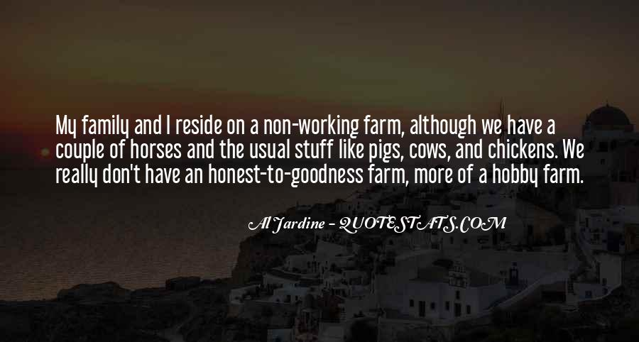 Farm And Family Quotes #699874
