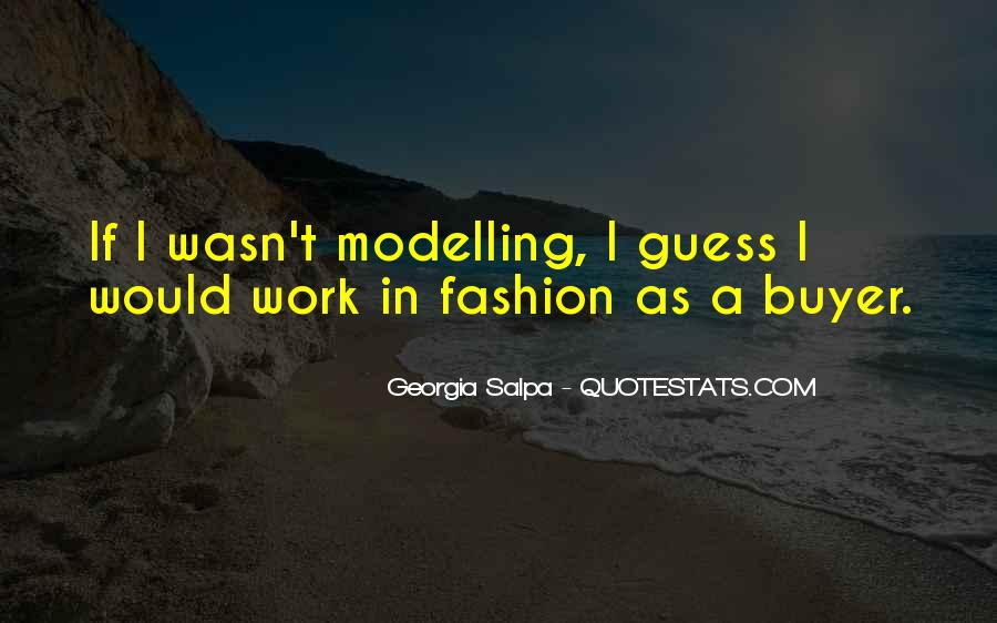 Fashion Buyer Quotes #1756865