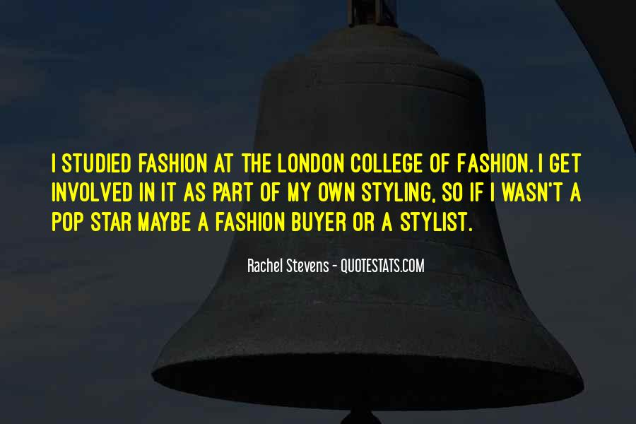 Fashion Buyer Quotes #265093