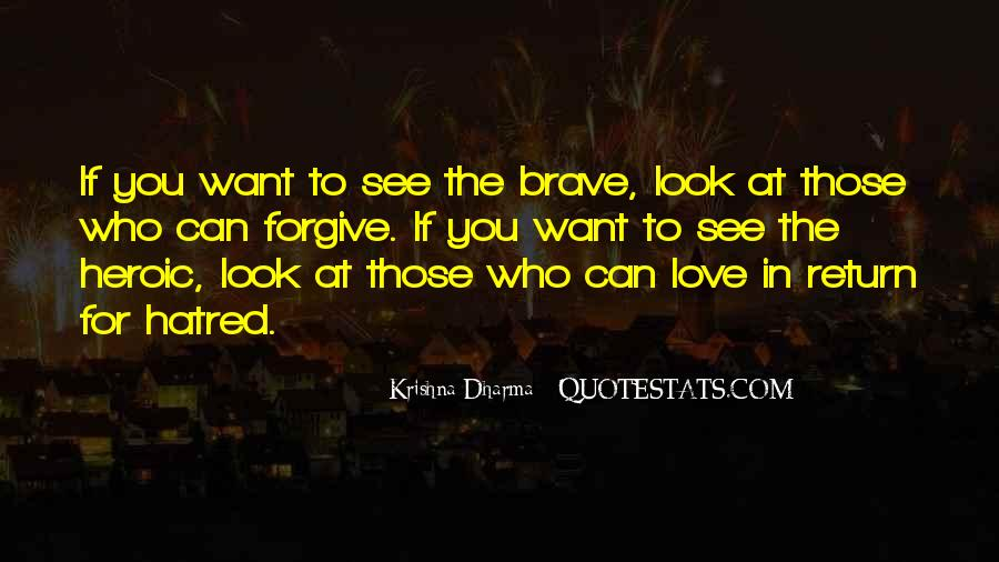 Quotes About Heroic Love #1113806