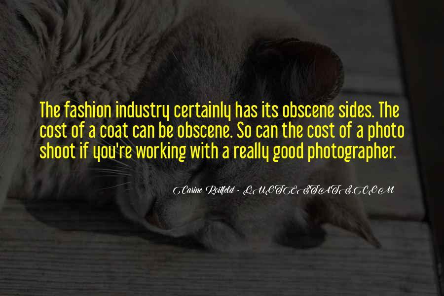 Fashion Shoot Quotes #1705674