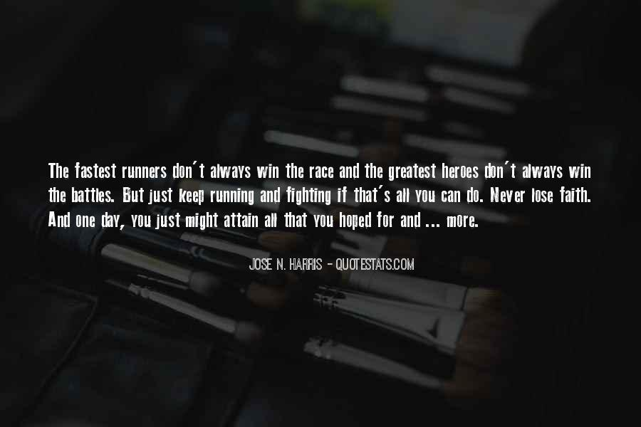 Fastest Running Quotes #265038