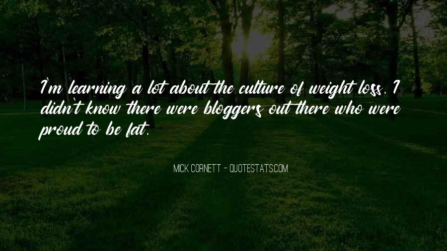 Fat And Proud Quotes #1017907