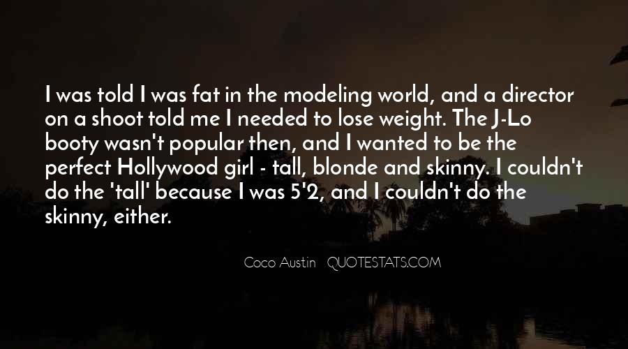 Fat And Skinny Girl Quotes #929028