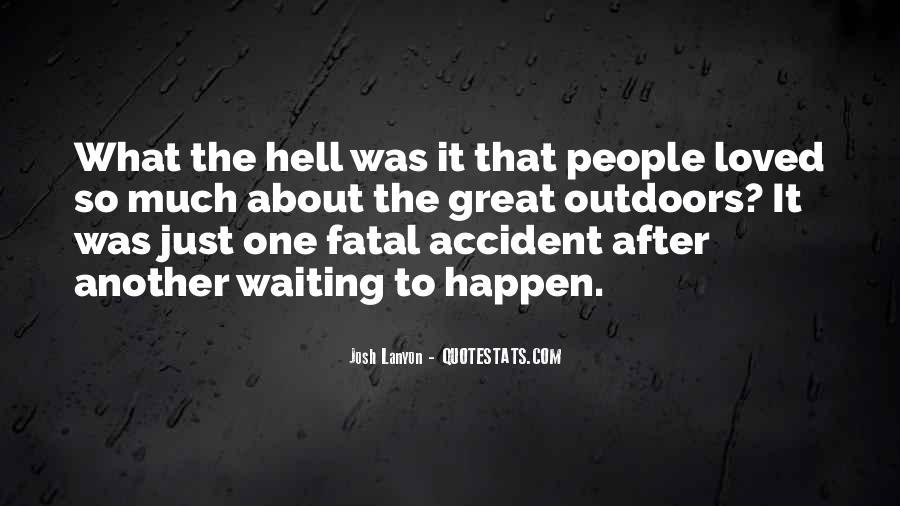 Fatal Accident Quotes #1067752