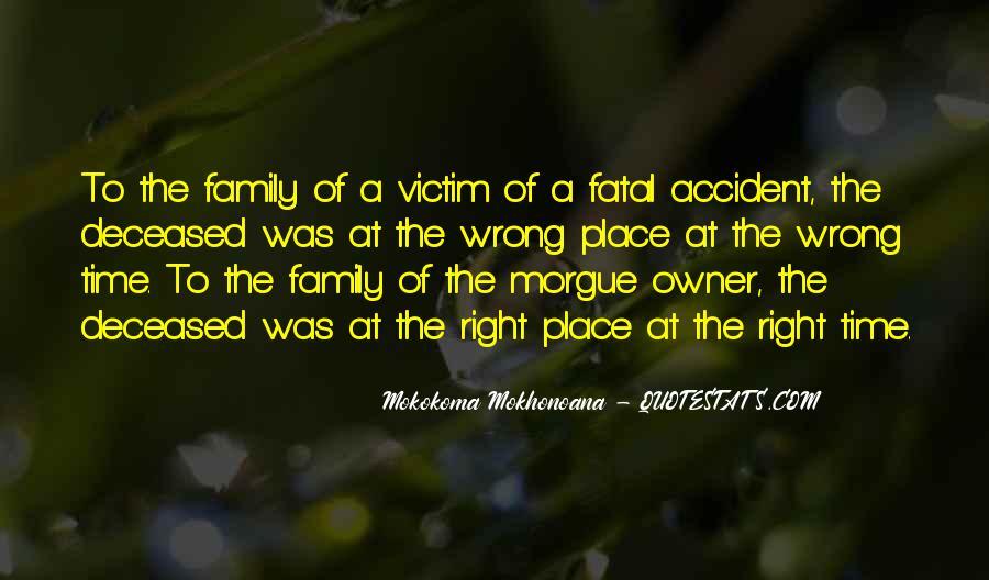 Fatal Accident Quotes #919193