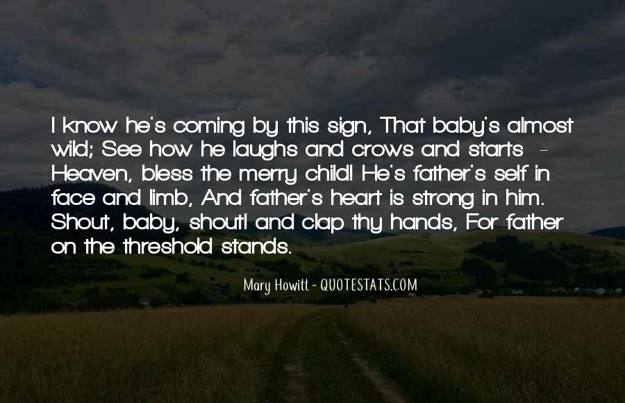 Father And Baby Quotes #1505323