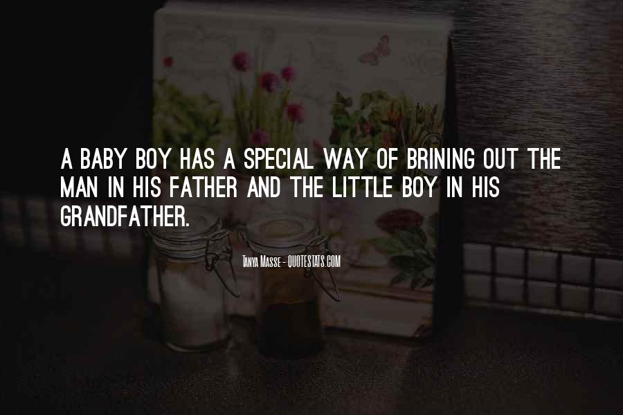 Father And Baby Quotes #506629