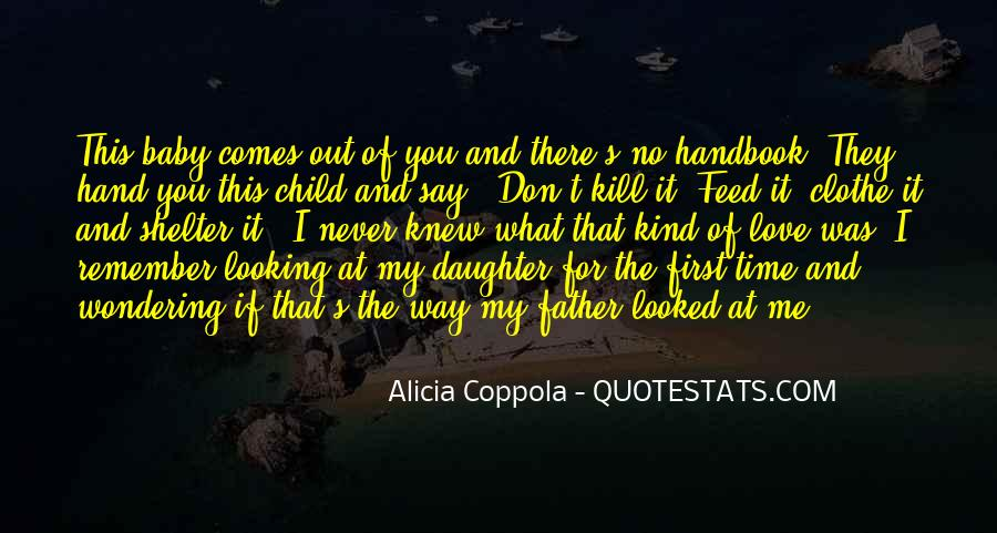 Father And Baby Quotes #980970