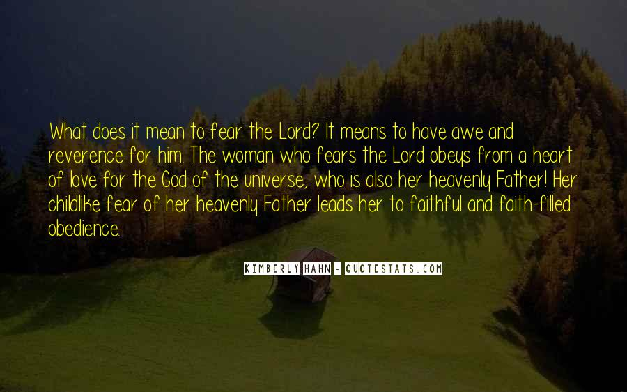 Father Heart Of God Quotes #593184
