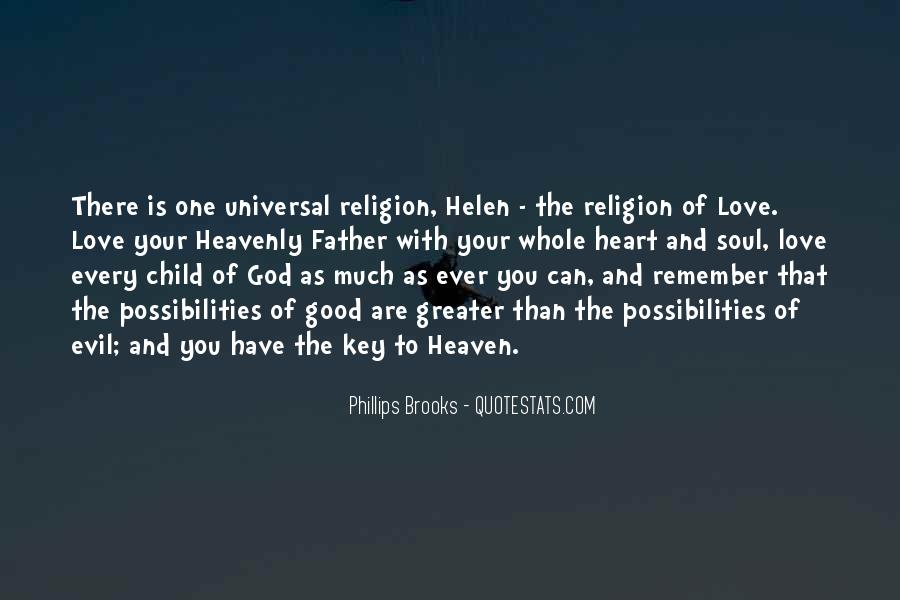 Father Heart Of God Quotes #793609