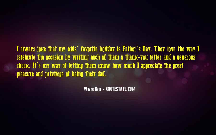 Father's Day Thank You Quotes #864582