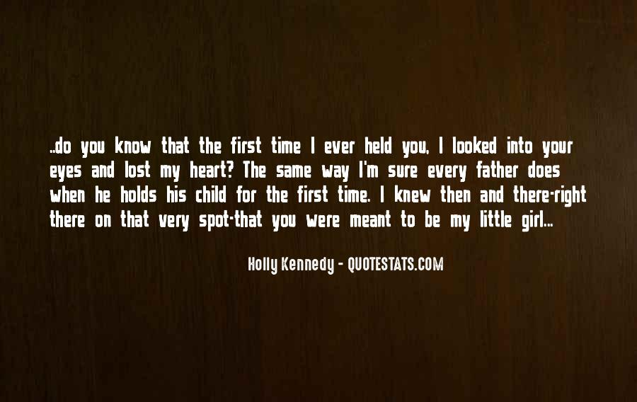 Father's First Child Quotes #1375084