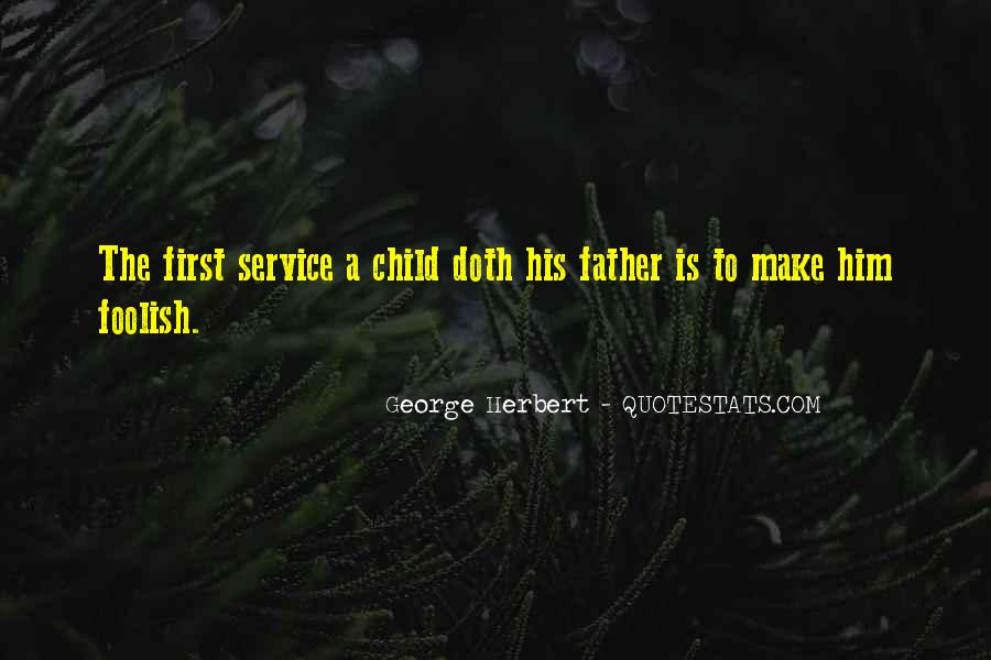 Father's First Child Quotes #265415