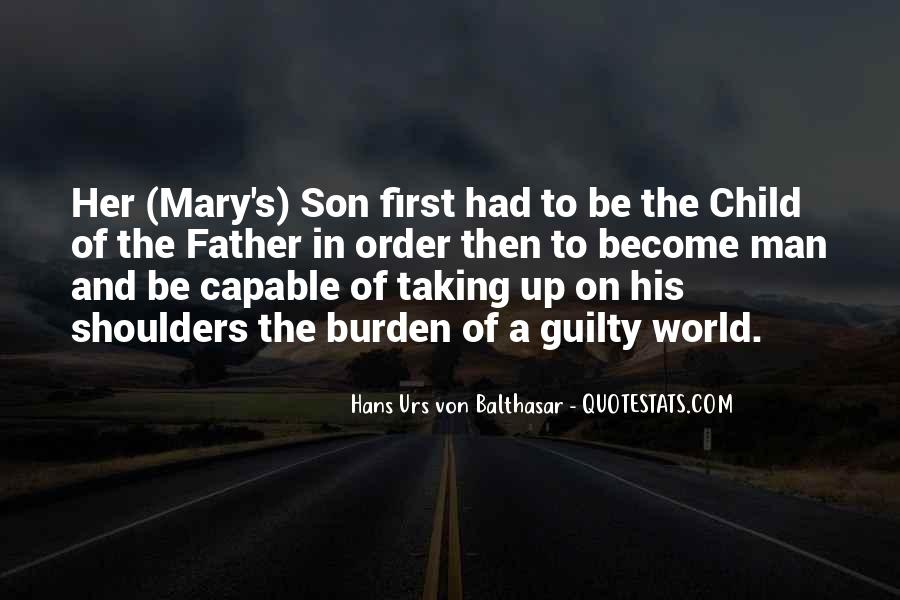 Father's First Child Quotes #301160