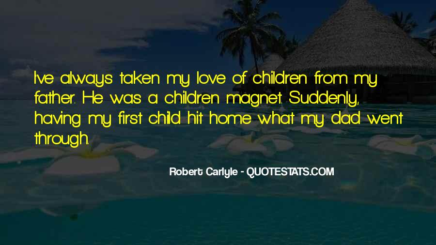 Father's First Child Quotes #80795