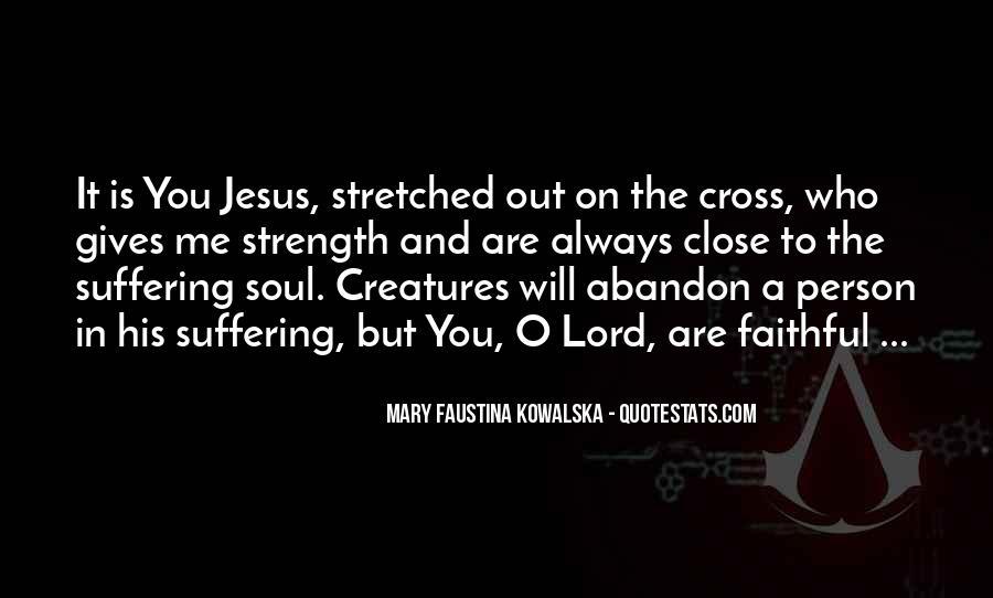 Faustina Quotes #1388579