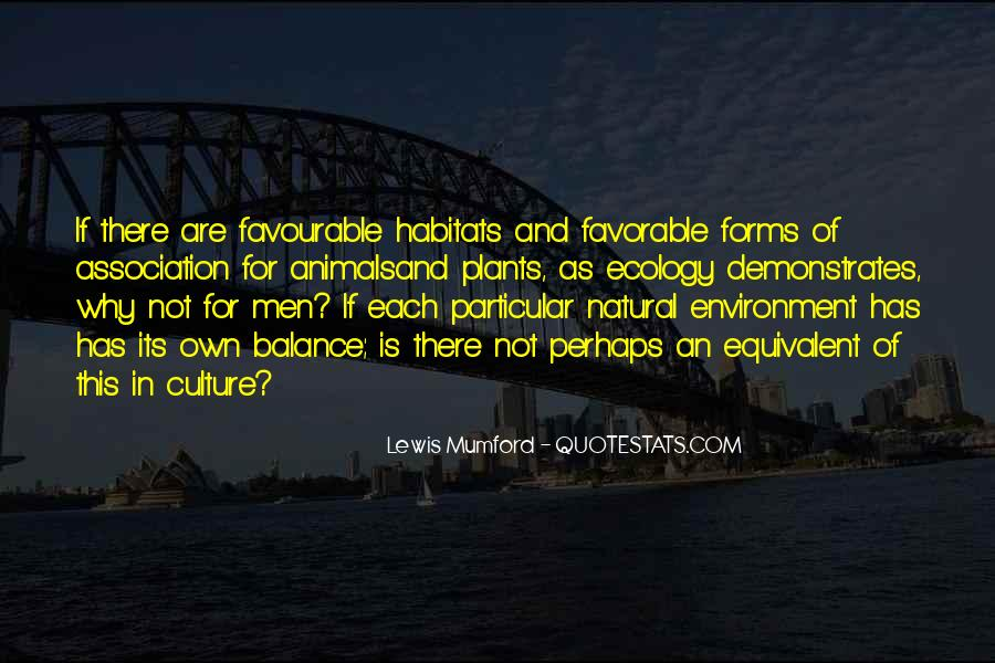 Favourable Environment Quotes #1057173