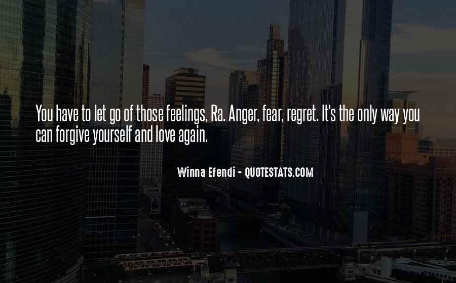 Fear And Regret Quotes #137624