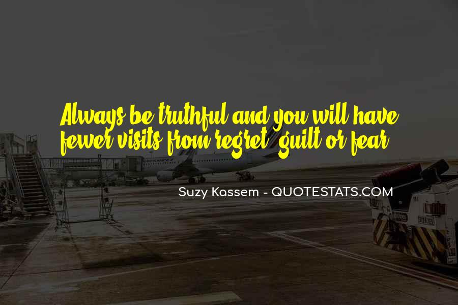 Fear And Regret Quotes #1751159