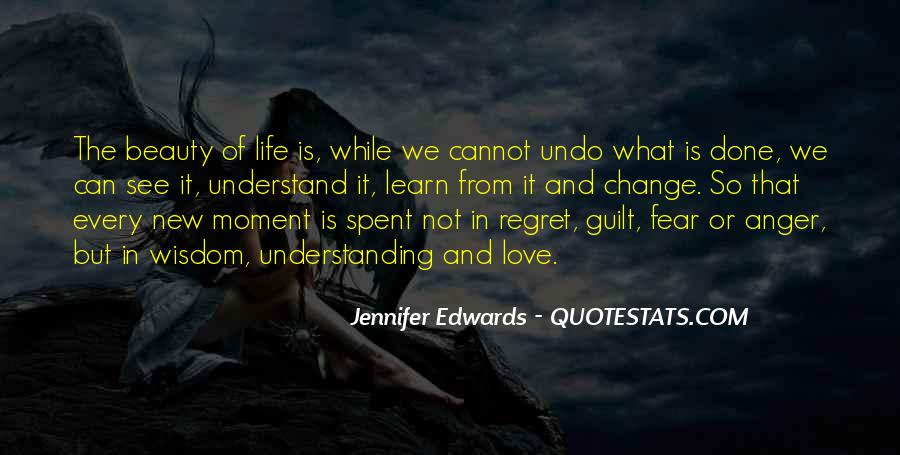 Fear And Regret Quotes #8331