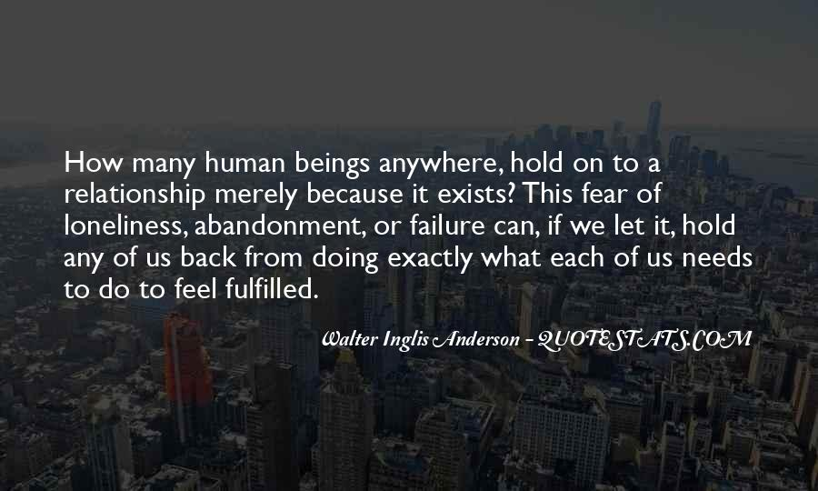 Fear Of Abandonment Quotes #1072661
