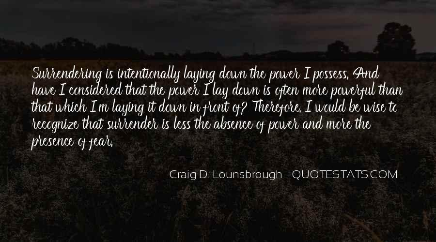 Fear Of Abandonment Quotes #1130151