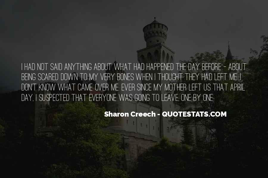 Fear Of Abandonment Quotes #1312361