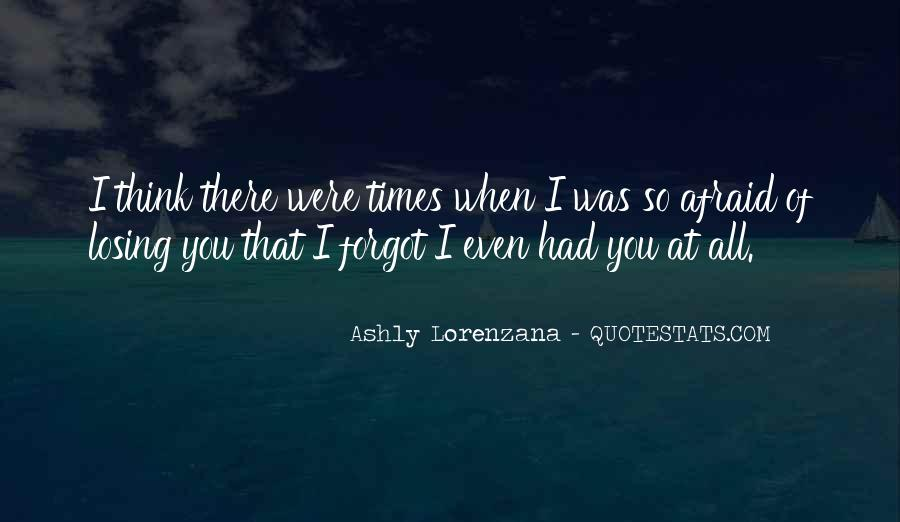 Fear Of Abandonment Quotes #293991