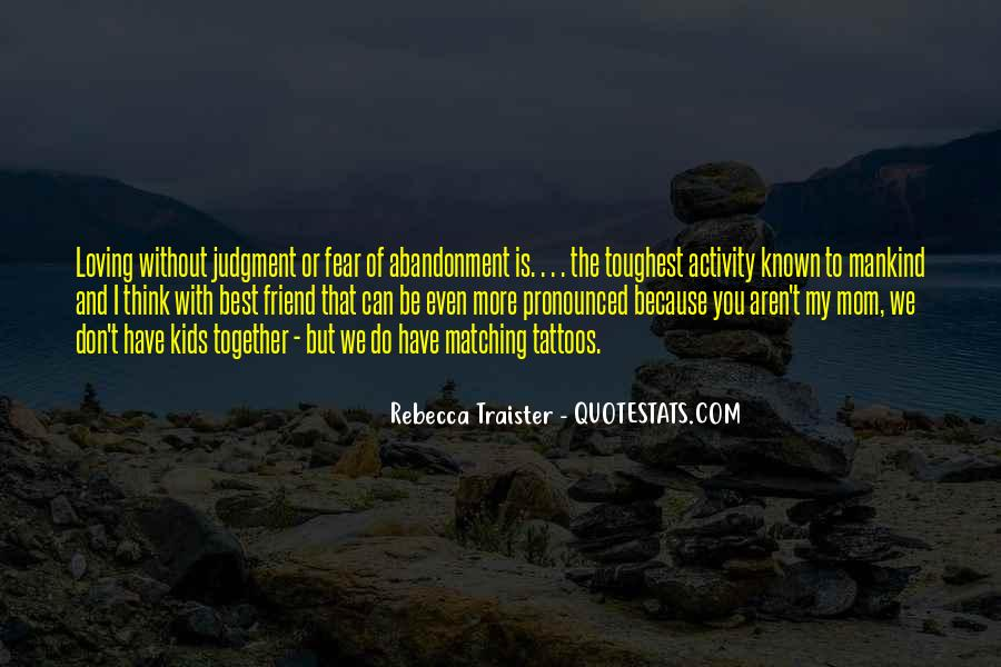 Fear Of Abandonment Quotes #501320