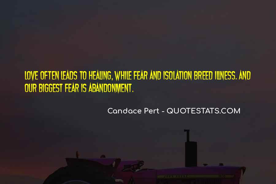Fear Of Abandonment Quotes #574366