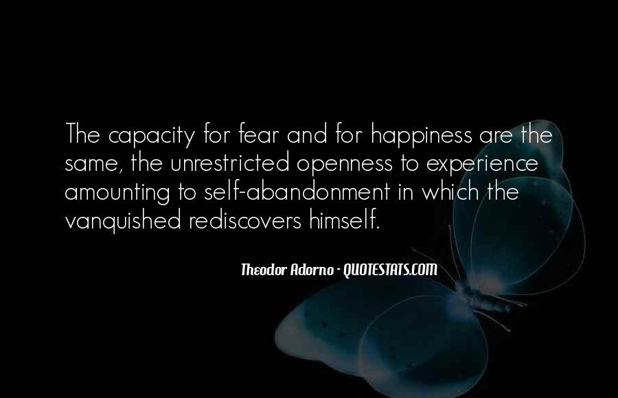 Fear Of Abandonment Quotes #649563