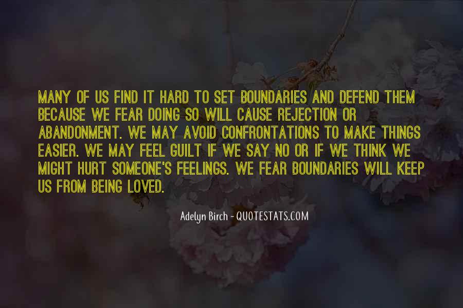 Fear Of Abandonment Quotes #681726