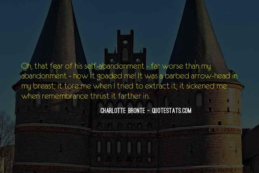 Fear Of Abandonment Quotes #7604