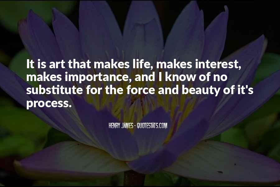 Quotes About The Importance Of Art #142360