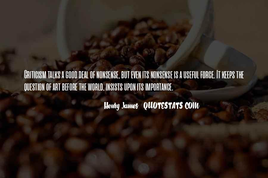 Quotes About The Importance Of Art #1805192