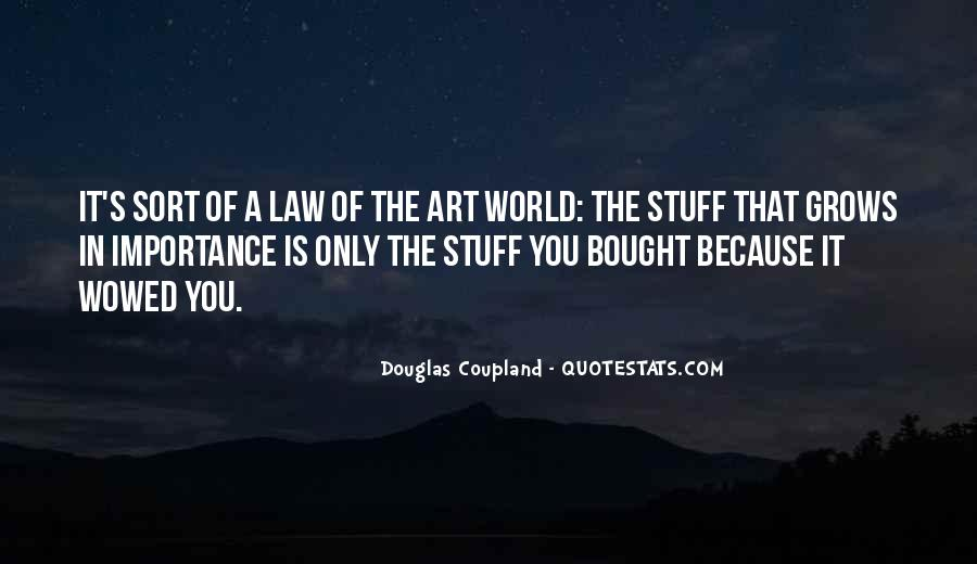 Quotes About The Importance Of Art #279960